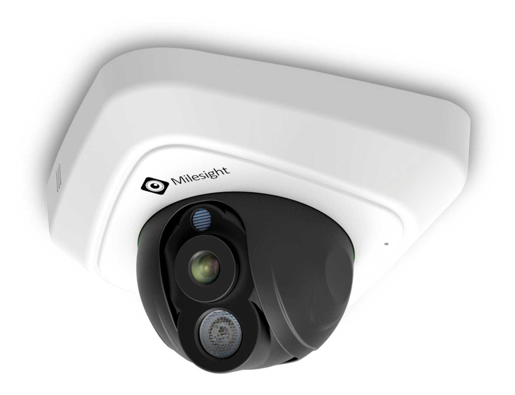 MS-C3587-P 3 MP IR Mini Dome Outdoor IP Camera